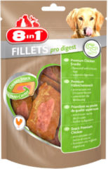 8in1 Fillets Pro Small - Hondensnacks - 80 g Digest - Hondenvoer