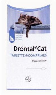 Afbeelding van Drontal Ontwormingsmiddel Kat vanaf 4kg 2 tabletten