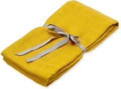 Gele Cam Cam CamCam hydrofiele doek of swaddle Mustard 120x120cm