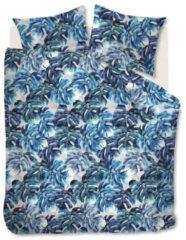 Blauwe Beddinghouse Hawaii Dekbedovertrek - Lits-jumeaux (240x200/220 Cm + 2 Slopen) - Katoen - Blue