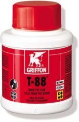 Gele Bison GriffonHard-PVC-lijm T-88pot 250ml - Kiwa Komo