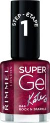 Rimmel London Rimmel SuperGel Nailpolish by Kate - 44 Rock N Sparkle<br/> - Nagellak