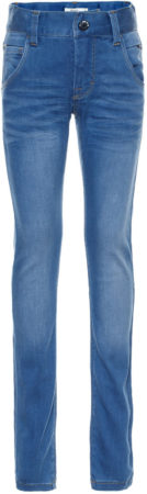 Afbeelding van Blauwe NAME IT Kids X-slim Super Stretch Jeans Heren Blauw