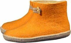 Gele Esgii Vilten herenslof High Boots yellow - Maat 44