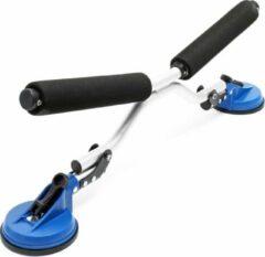 Blauwe Merkloos / Sans marque Bootroller aluminium kayak kano tot 100kg met zuignappen