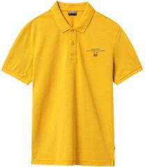 Gele Polo Shirt Korte Mouw Napapijri NP0A4EGC