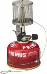Grijze Primus Lantaarn Micron Mesh met piezo ontsteking - Gaslamp - 235 Lumen