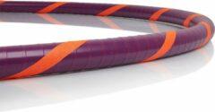 Paarse Robin Hoop Professionele Hoelahoep Spaceship | Handgemaakt | Premium kwaliteit | Volwassenen en kind 8+ | Fitness en hoopdance