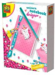 SES Creative Unicorn designer meisjes roze 7-delig