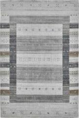 Decor24-OB Handgeweven luxueus vloerkleed Legend - Wol - Taupe - 160x230 cm