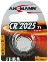 ANSMANN Lithium Knopfzelle 'CR2025', 3,0 Volt, 1er-Blister
