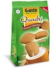 Giusto Senza Glutine Quadri Frollini Semplici 200 g