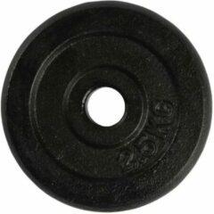 VirtuFit Gietijzeren Halterschijf - Halter gewicht - 29 mm - 2,5 kg - Zwart