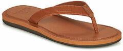 Quiksilver Molokai Nubuck II Heren Slippers - Tan - Maat 47
