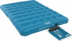 Blauwe Coleman Extra Durable Double Luchtbed - 2-Persoons - 198 x 137 x 22 cm