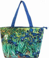 Robin Ruth Shopper Tas Small 38x25cm Van Gogh - Irissen