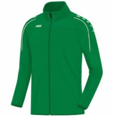 Trainingsjacke Classico mit Zippergarage 8750-08 Jako Sportgrün