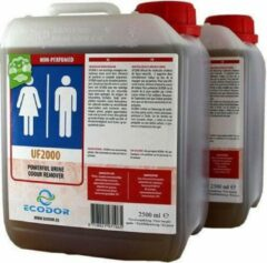 UF2000 - Urine Geurverwijderaar - 2x 2500ml - (Concentraat) - Ecodor