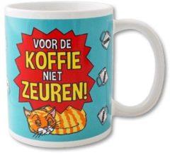 Paperdreams Funny Mugs 09- voor de koffie niet zeur