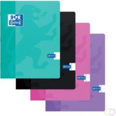 Oxford SCHOOL schrift geassorteerde kleuren formaat A5 120 bladzijden gelijnd