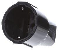 Bachmann 912.170 Koppeling met randaarde Kunststof 230 V Zwart IP20