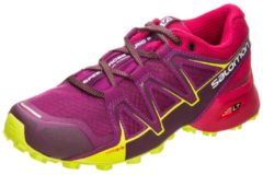 Speedcross Vario 2 Trail Laufschuh Damen Salomon dark purple / cerise / acid lime