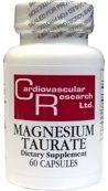 Cardiovascular Research Cardivascular Research Magnesium Tauraat 125mg Capsules