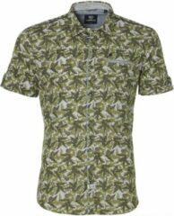 Lerros Overhemd - Modern Fit - Groen - 3XL Grote Maten