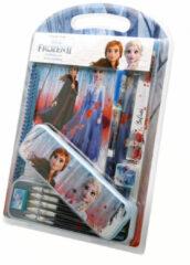 Blauwe Kids licensing Disney Frozen 2 / Frozen 2 - schrijfwaren set 12 delig.