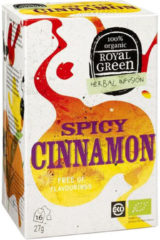 Royal Green Royal groen Spicy cinnamon 16 Stuks