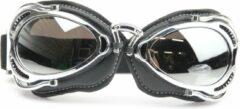 CRG radical motorbril chrome Glaskleur: Zilver reflectie