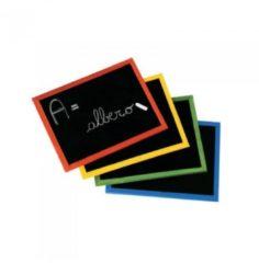 Lebez Lavagna con Cornice colorata 30x40 cm