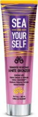 Fiesta Sun SEA FOR YOURSELF Zonnebankcreme WHITE NATURAL BRONZER met Tattoo bescherming (IN & OUTDOOR TANNING) - 280 ml