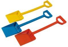 Rode Androni Plastic schep uni - 50cm - 3 ass. kleuren