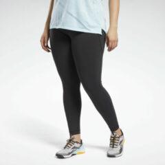 Zwarte Reebok Lux High Rise Legging (Plus Size)