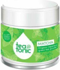 Teatonic MATCHA bio groene theepoeder