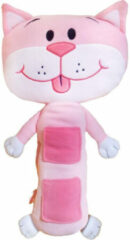 Tele Toys Teletoys Gordelhoes Kat Junior 34 Cm Polyester Roze/wit