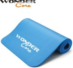 Wonder Core II Wonder Core Yoga mat NBR 1,6 cm - Blauw - Fitnessmat - Fitnessaccessoire