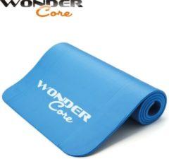 Blauwe Wonder Core II Wonder Core Yoga Mat NBR - 1,6 cm - Blue