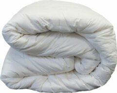 Gebroken-witte Slaapoutlet Luxe Wollen 4-Seizoenen Dekbed (met Rits) - 100% Zuiver Scheerwol - 240x200 cm