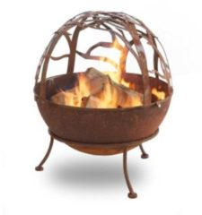 Feuerstelle Globe Rost