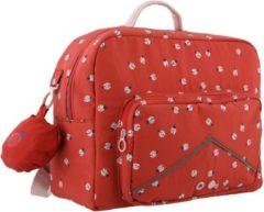 Trixie schooltas Ladybug meisjes 15 liter 37 cm nylon rood
