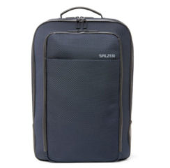 Blauwe Salzen Sleek Line Fabric Business Backpack Knight Blue