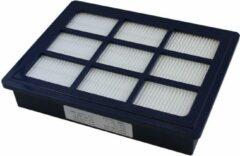 Blauwe Hepafilter H13 voor Nilfisk stofzuiger Power/Select.