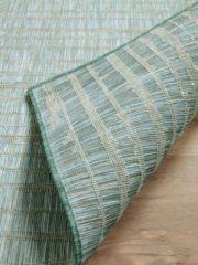 Pergamon In- und Outdoor Teppich Beidseitig Flachgewebe Hampton Streifen... 80x150 cm