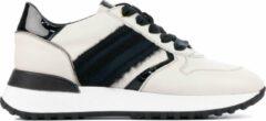 Beige DL Sport Vrouwen Leren Sneakers - 4877 - 40