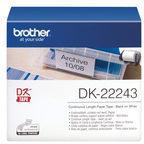 Brother DK-22243 Endlos-Etiketten Papier, 102 mm x 30,48 m