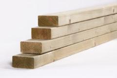 Woodvision Tuinhout regel NE Vuren | 45 x 95 mm | 480 cm