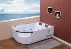 Plazan Creativa whirlpool links 180x120x60cm