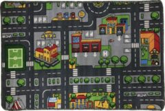 Dywanik Speelkleed - Verkeerskleed - speel tapijt - Smart City 80 x 120 cm - Design 1